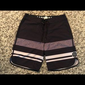 """LiveFit 8"""" inseam active board shorts"""